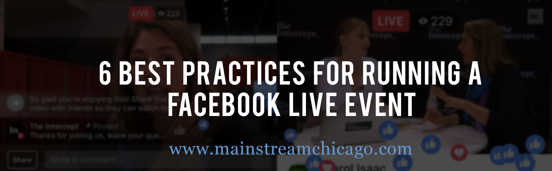 Best Practices for Facebook Live Streaming