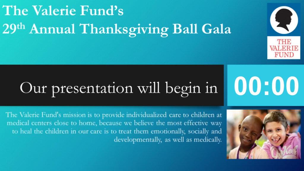 Valerie Fund Thanksgiving Fund