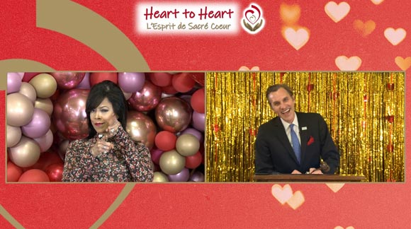 Virtual Fundraiser with Sacred Heart